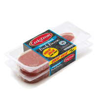 10 rashers - twin pack of unsmoked back bacon